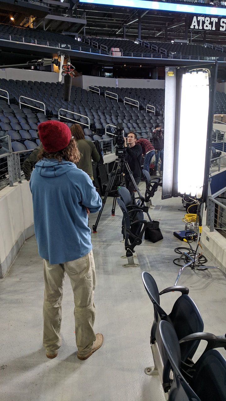 Sound recording at sporting events